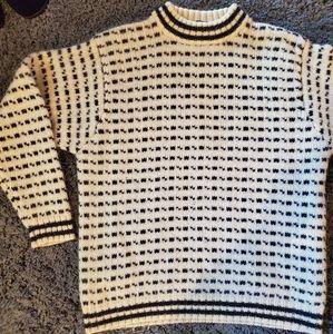 LOGG mens wool sweater L
